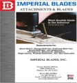 Imperial Blades Catalog Cover